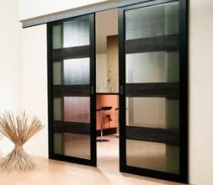 Pintu Dapur dari Kaca
