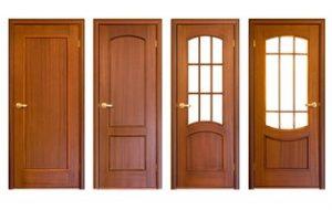 Pintu Dapur dari Kayu