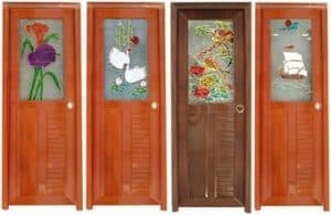 Pintu Kamar Mandi dari Kayu