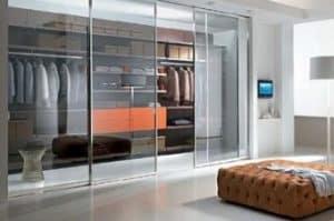 Pintu Kamar Tidur dari Kaca