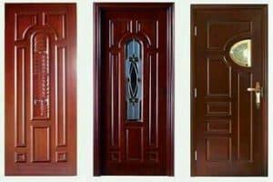 Pintu Kamar Tidur dari Kayu