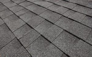 Tampilan atap genteng aspal