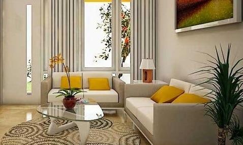 Desain Ruang Tamu Minimalis Ukuran 2x3 4 Rumahlia Com