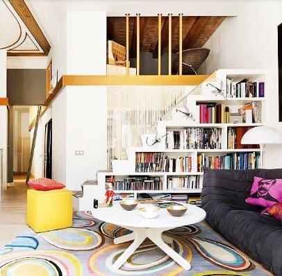 info penting rak minimalis ruang tamu