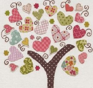 Hiasan dinding motif kain