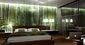 Kamar Tidur Utama dengan Tema Alam