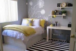 Kamar Tidur Utama sesuai Tata letak dan ukuran