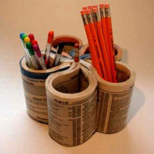 tempat-pensil-dari-koran