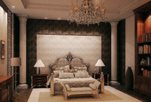 Kamar tidur gaya klasik