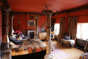 Kamar tidur gaya maroko