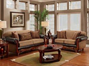 Model Sofa Berbentuk Setengah Lingkarang Banyak Digunakan Untuk Mendesain Ruang Tamu Minimalis Karena Desainnya Yang Sangat Irit Tempat Dengan Hanya