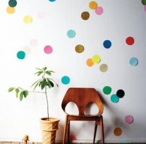 Dibentuk Pola Polkadot Pada Dinding R Atau Cara Menata Ruang Tamu Minimalis Anda Dapat Membuat Suasana Lebih Berwarna Dan Terkesan Hidup