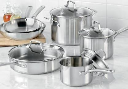 7 Cara Membersihkan Peralatan Dapur Dari Stainless Steel Paling Mudah