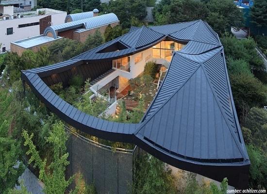 13 Desain Rumah Ala Korea yang Minimalis
