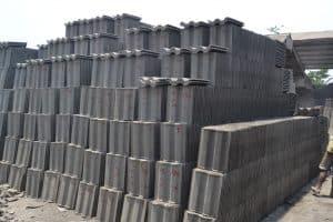 material genteng beton