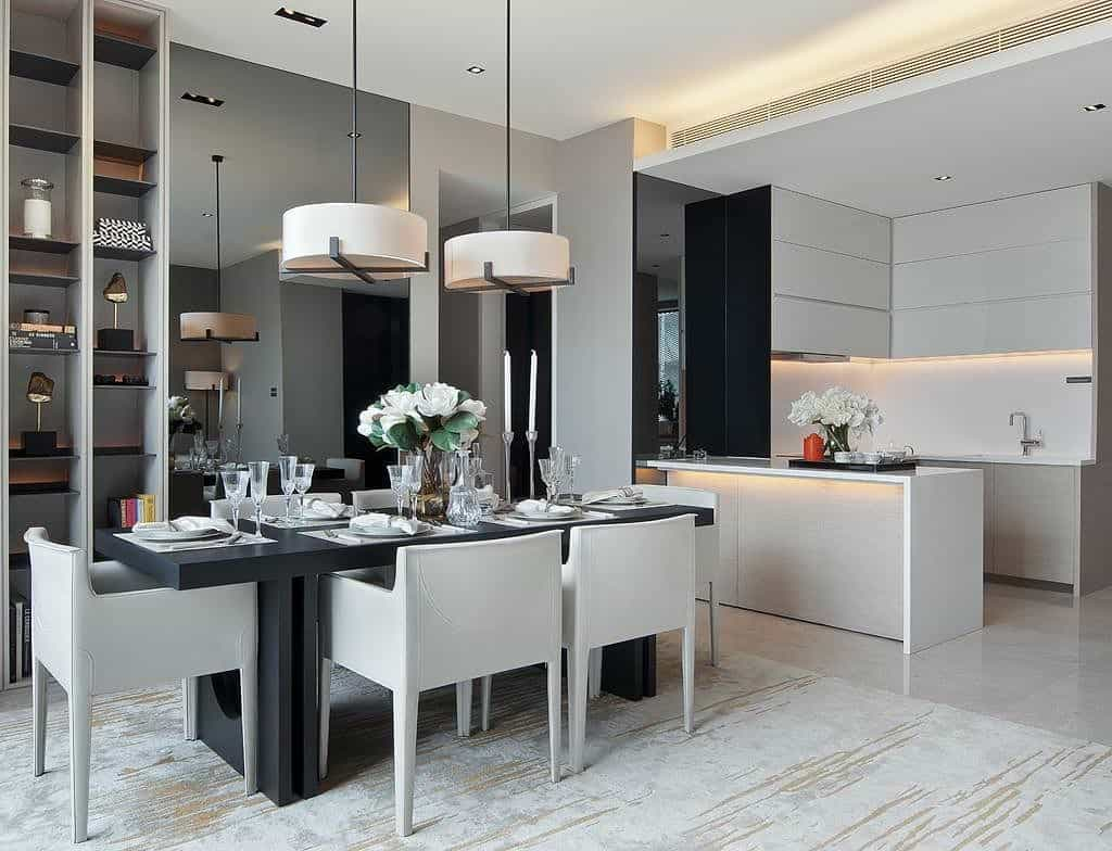 ruang makan minimalis