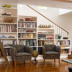 perpustakaan dalam rumah ini bisa jadi inspirasi