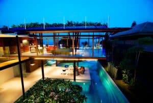 Rumah Modern Tropis Singapura