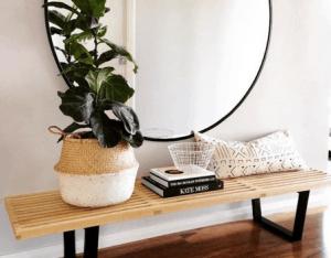 desain foyer cermin