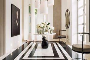 desain foyer rumah minimalis