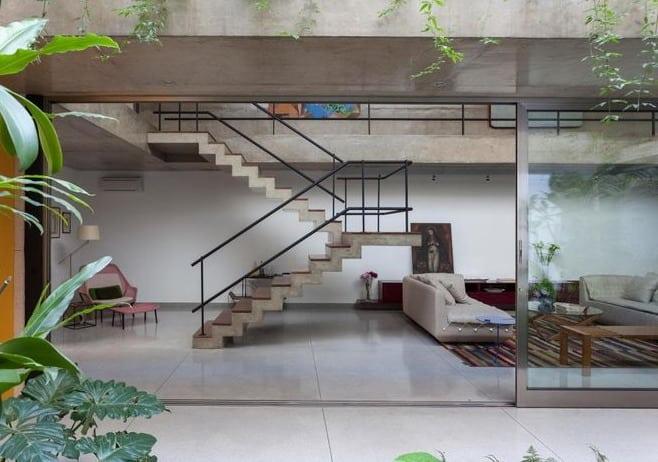 Mengenal 6 Desain Void Rumah 2 Lantai RumahLia