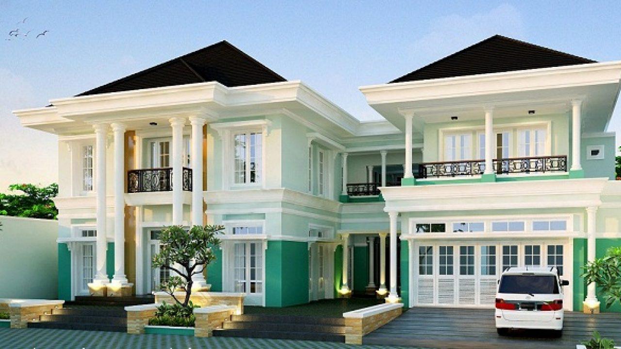 Mengintip 6 Desain Rumah Modern Eropa Yang Unik - RumahLia.com