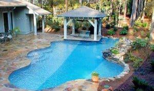 kolam renang free form