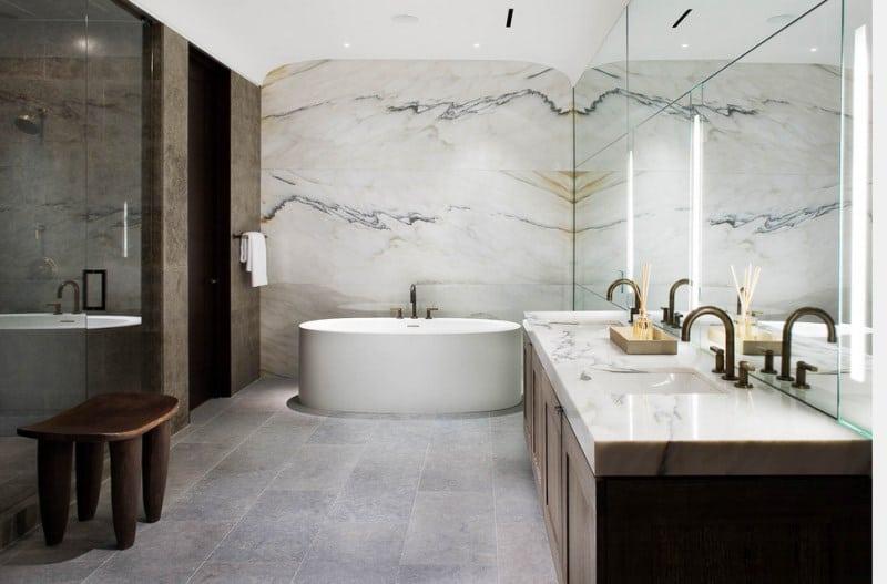 Mengintip 9 Cara Pemasangan Granit Dinding