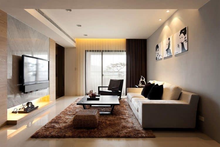 9 Cara Menata Ruang Tamu yang Memanjang