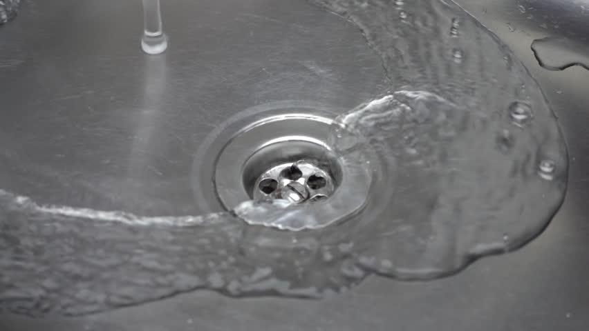 saluran air tersumbat