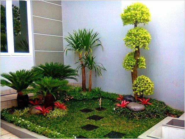 4 Cara Membuat Taman Kecil di Depan Rumah Minimalis