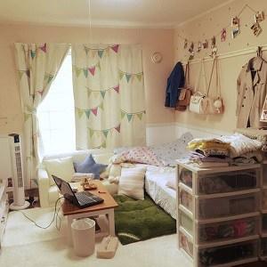 8 Contoh Desain Kamar Tidur Sederhana Ala Korea untuk ...