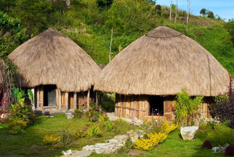 9 Keunikan Rumah Adat Honai Khas Papua