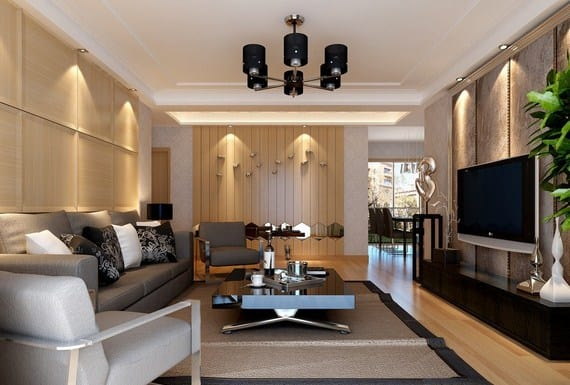10 Cara Menata Ruang Tamu yang Menyatu dengan Ruang Keluarga Agar Menarik