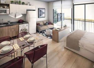 10 Desain Interior Apartemen Studio Paling Nyaman dan Rapi ...
