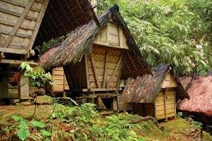 9 Keunikan Rumah Adat Baduy dari Banten
