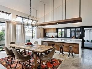 8 Desain Interior Ruang Keluarga Menyatu Dengan Dapur untuk Rumah Minimalis