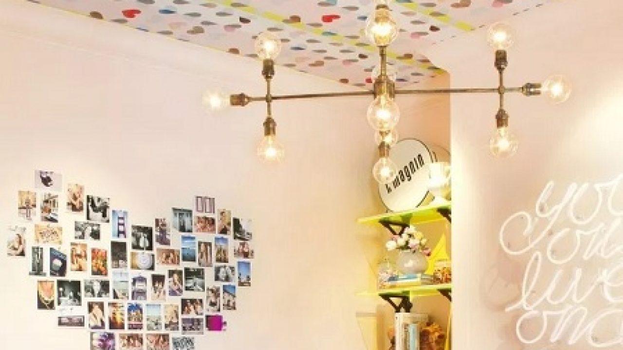 9 Cara Membuat Hiasan Kamar Dari Kertas Kado Paling Kreatif Rumahlia Com Dekorasi kamar dari kertas kado
