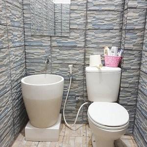 Desain Kamar Mandi Kecil Kloset Jongkok Rumah Joglo Limasan Work