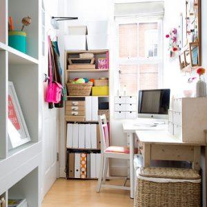 Interior Ruang Kerja di Rumah