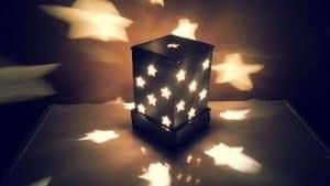 Cara Membuat Lampu Tidur Dari Kardus Yang Mudah