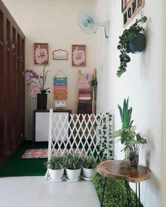 desain mushola dalam rumah minimalis modern