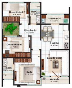 949565-desain-rumah-minimalis-3-kamar - RumahLia.com